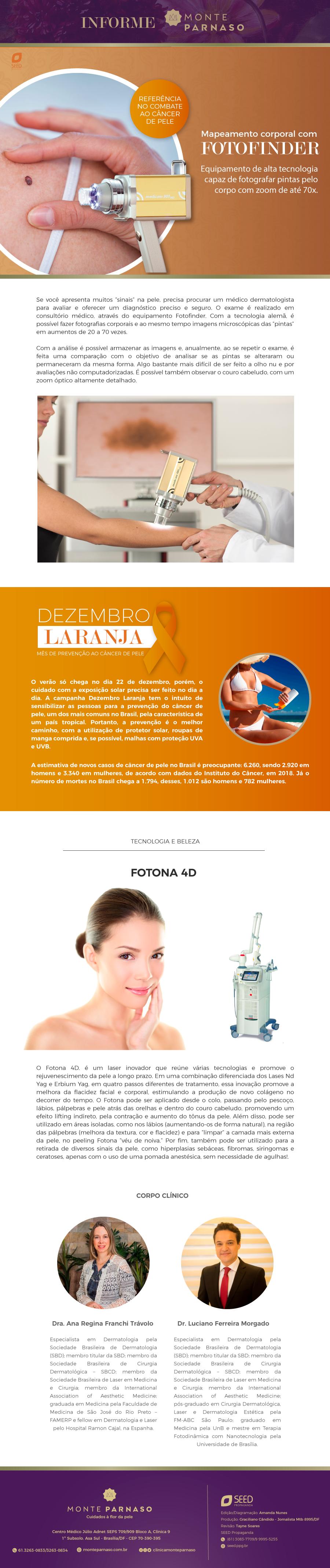 Newsletter Monte Parnaso – Novembro 2019