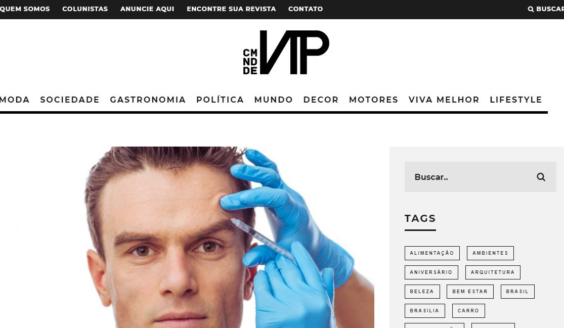 Comunidade VIP: Pesquisa Afirma, homens estão buscando mais tratamentos estéticos