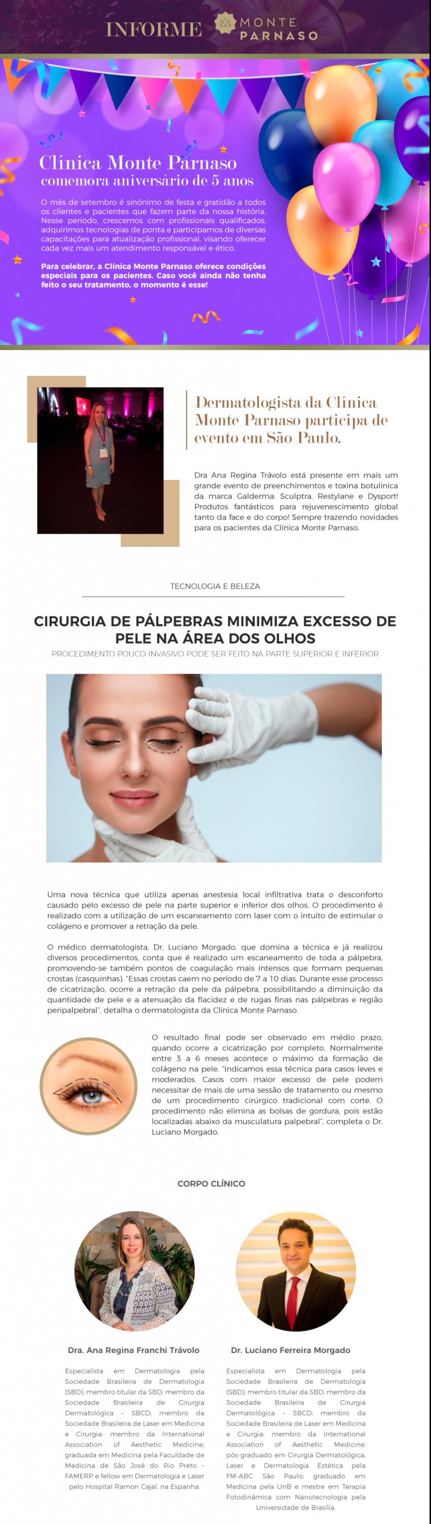 Newsletter Monte Parnaso – Setembro 2019